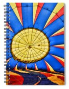 Inside A Hot Air Balloon Spiral Notebook
