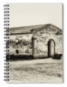 Inside Fort Mifflin - Phildalphia Spiral Notebook
