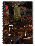 Inside The Bar In Luckenbach Tx Spiral Notebook