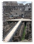 Inside The Colosseum Spiral Notebook