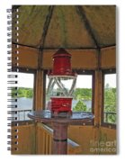 Inside The Lighthouse Tower #3. Uostadvaris. Lithuania. Spiral Notebook