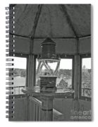 Inside The Lighthouse Tower. Uostadvaris. Lithuania. Spiral Notebook