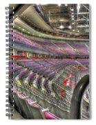 Inside The Palace Of Auburn Hills 3 Spiral Notebook