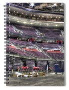 Inside The Palace Of Auburn Hills Mi Spiral Notebook