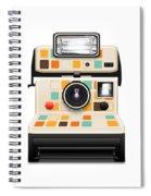Instant Camera Spiral Notebook