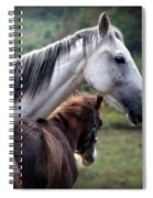 Instinct Of Love Spiral Notebook