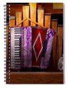 Instrument - Accordian - The Accordian Organ  Spiral Notebook