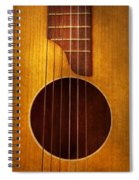 Instrument - Guitar - Let's Play Some Music  Spiral Notebook