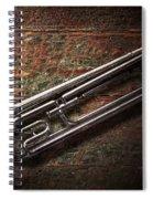 Instrument - Horn - The Bugle Spiral Notebook