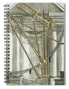 Instruments From A Viennese Observatory Spiral Notebook