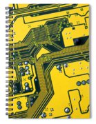 Integrated Circuit Spiral Notebook