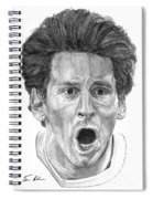 Intensity Lionel Messi Spiral Notebook