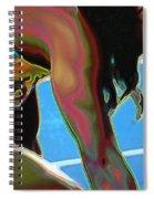Intensity Of Focus Spiral Notebook