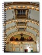 Interior Of Union Pacific Railroad Depot - Salt Lake City Spiral Notebook
