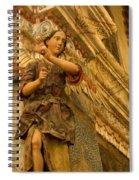 Interior San Xavier Del Bac Spiral Notebook
