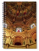 Interiors Of A Cathedral, St. Finbarrs Spiral Notebook