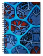 Internal Vision Design Spiral Notebook