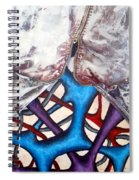Internally Unzipped Detail Spiral Notebook