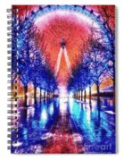 Into The Eye Spiral Notebook