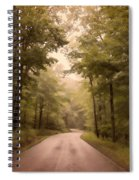 Into The Mists Spiral Notebook
