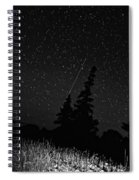 Into The Night Monochrome Spiral Notebook