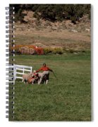 Into The Paddock Spiral Notebook