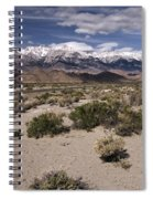 Into The Sierras Spiral Notebook