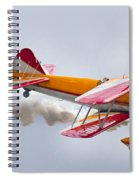Into The Wind Spiral Notebook