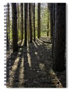 Into The Woods Spnc Michigan Spiral Notebook