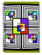 Invisible Diamond Spiral Notebook