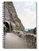Ireland: Black Cave Tunnel Spiral Notebook