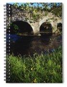 Ireland Bridge Over Water Spiral Notebook