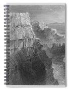 Ireland: Cliffs, C1840 Spiral Notebook