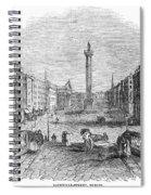 Ireland: Dublin, 1843 Spiral Notebook