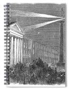 Ireland: Dublin, 1849 Spiral Notebook