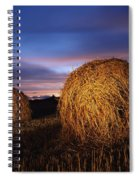 Ireland Hay Bales Spiral Notebook