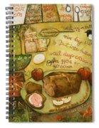 Irish Brown Bread Spiral Notebook