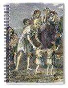 Irish Great Potato Famine Spiral Notebook