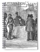 Irish Immigrants, 1851 Spiral Notebook