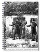 Irish Land League, 1887 Spiral Notebook