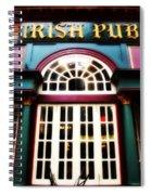 Irish Pub Spiral Notebook
