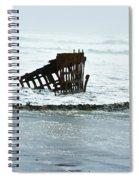 Iron Bones Spiral Notebook