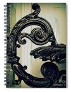 Iron Details Spiral Notebook