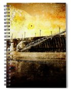 Iron Ore Freighter Spiral Notebook