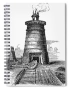 Iron Smelting, C1855 Spiral Notebook