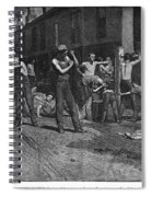 Iron Workers, 1884 Spiral Notebook
