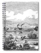 Iron Works, 1855 Spiral Notebook