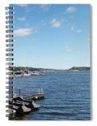Irondequoit Bay Panorama Spiral Notebook