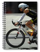 Ironman 2012 Flying By Spiral Notebook