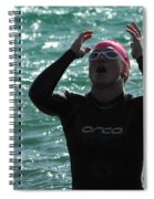 Ironman St George Spiral Notebook